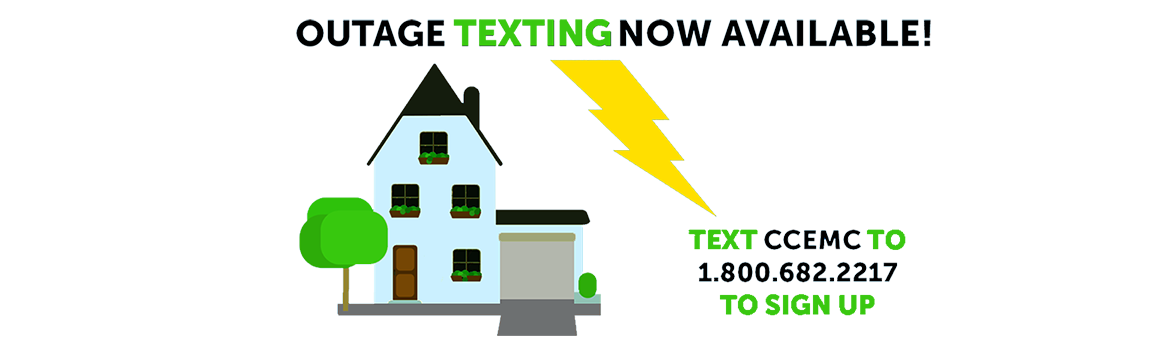Outage Texting Information Illustration